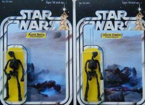 Thing of the adventures you could create with these action figures!